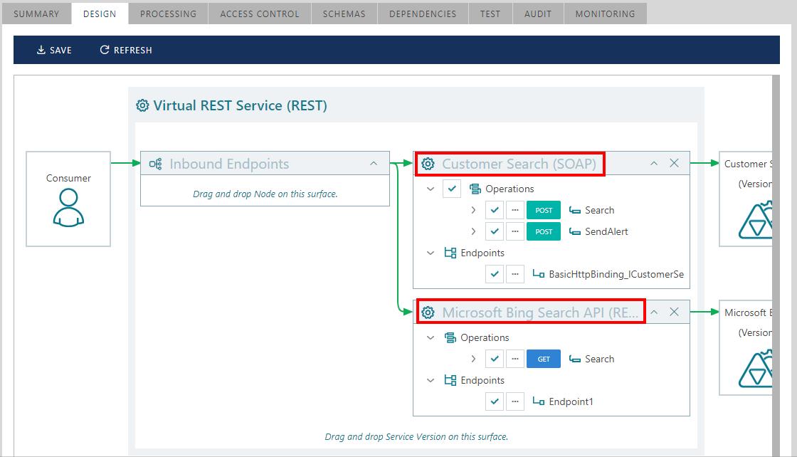 Virtualizing SOAP services as REST services | Sentinet
